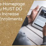7 Website Homepage Hacks You MUST DO TODAY to Increase Student Enrollments – DSEP 16